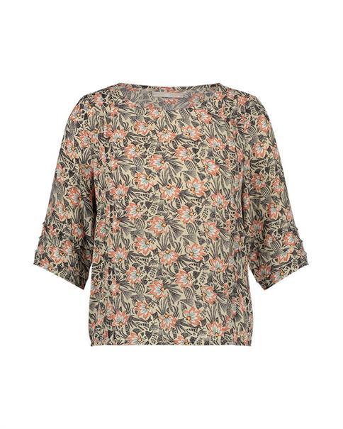 Aaiko blouse SUZA PES 514 in het Grijs