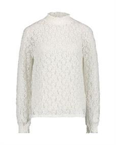 Aaiko blouse THYLA PES 347 in het Wit