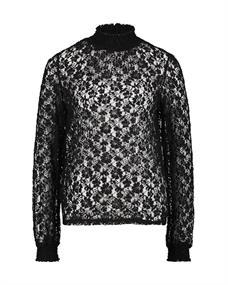 Aaiko blouse THYLA PES 347 in het Zwart