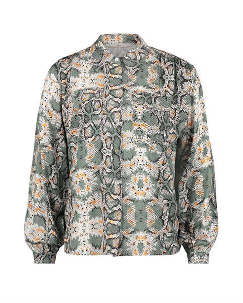 Aaiko blouse TIANNA VIS 183 in het Mint Groen
