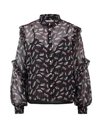 Aaiko blouse TOKIO PES 540 in het Zwart