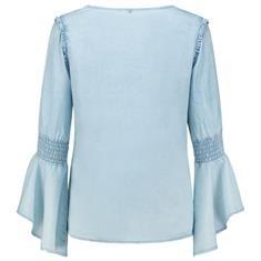 Aaiko blouse tyrani in het Licht Blauw