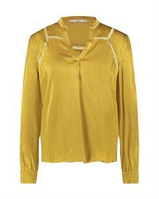 Aaiko blouse VALERA VIS 513 in het Geel