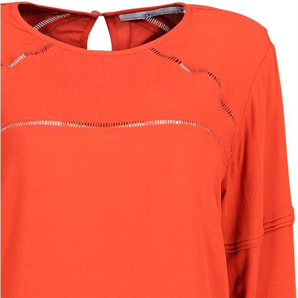 Aaiko blouse vando in het Roest