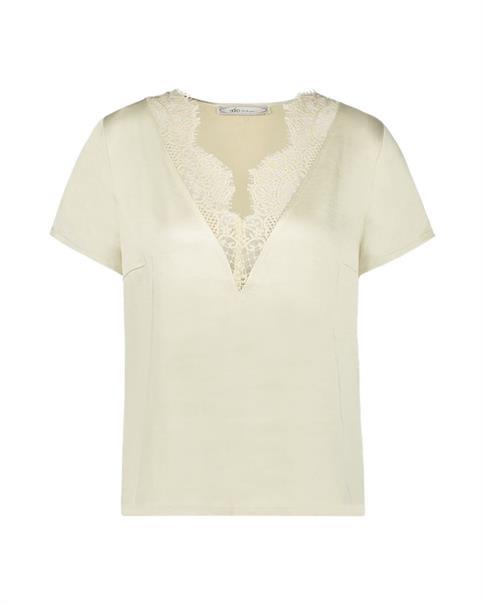 Aaiko blouse VEERLY PES 523 in het Grijs