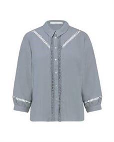 Aaiko blouse VENRA VIS 531 in het Hemels Blauw
