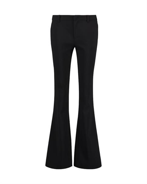 Aaiko broeken FLARENE VIS 345 in het Zwart
