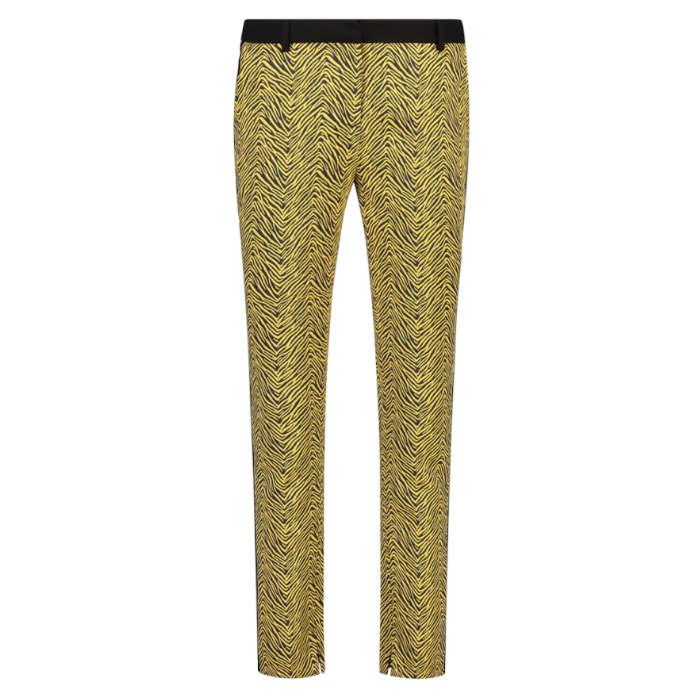 Smit Mode:  Aaiko broeken PARIEN JACQUARD P in het Geel
