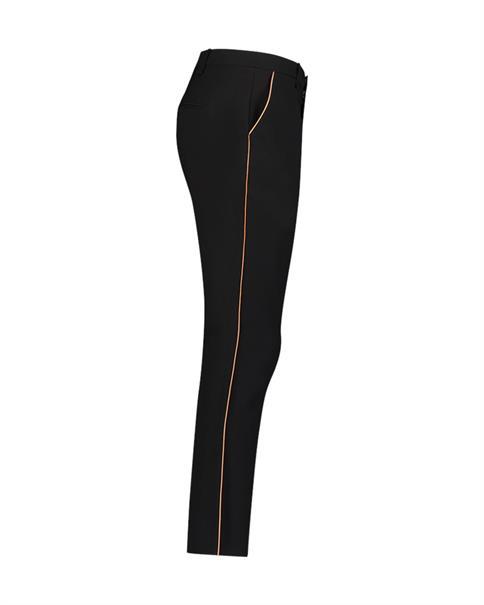 Aaiko broeken PARINAS VIS 543 in het Zwart