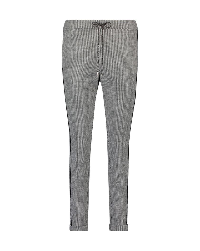Smit Mode:  Aaiko broeken POPPIN PIED PES in het Zwart