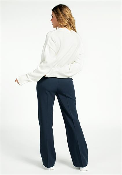 Aaiko business pantalon SHANTY VIS 345 in het Marine