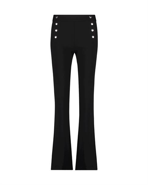 Aaiko business pantalon SOLLA VIS 364 in het Zwart