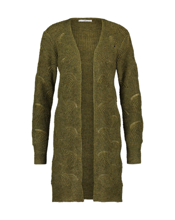Aaiko gebreid vest MEG WM 421 in het Groen
