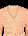 Aaiko gebreid vest TAMORA CO 392 in het Zacht roze