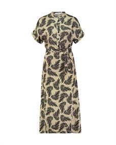 Aaiko jurk ALETTA GRAPHI 520 in het Grijs
