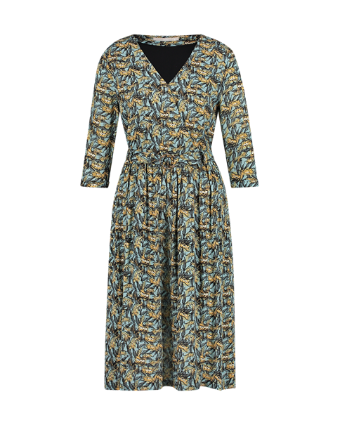 Aaiko jurk ANDA VIS 503 in het Hemels Blauw