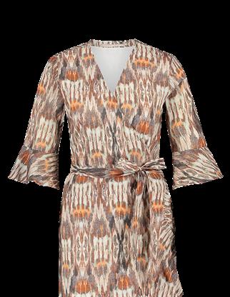 Aaiko jurk ARNELLE CO 610 in het Brique