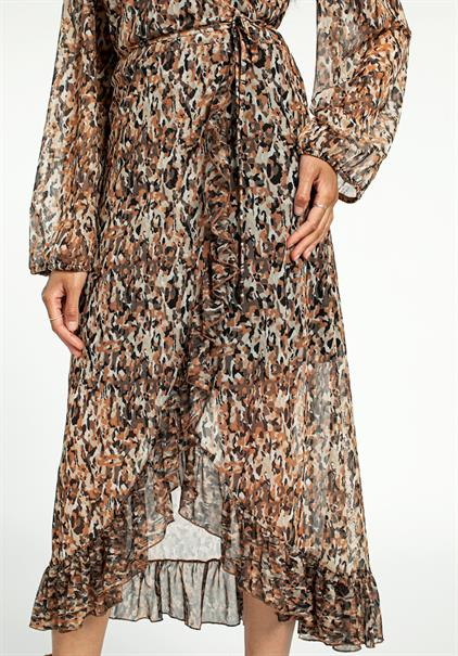 Aaiko jurk BODIE PES 132 in het Offwhite