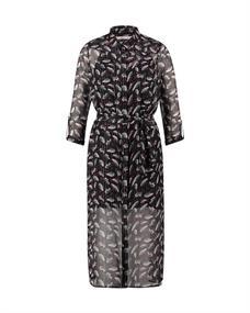 Aaiko jurk KYOTO PES 540 in het Zwart
