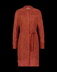 Aaiko jurk LADINKA LEAFS 514 in het Rood