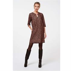 Aaiko jurk MAZARON PES 534 in het Bruin