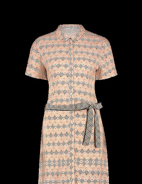Aaiko jurk RENA VIS 513 in het Brique
