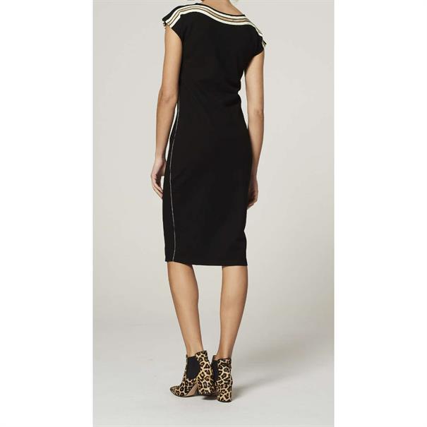 Aaiko jurk TANORI CO 362 in het Zwart