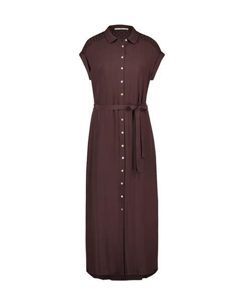 Aaiko jurk VALKA VIS 531 in het Bruin