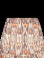 Aaiko midi rok ALIYA CO 610 in het Brique