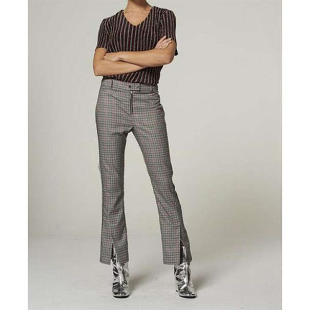 Aaiko pantalons carillo in het Zwart / Wit
