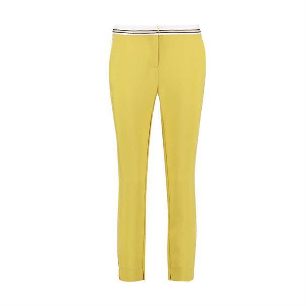 Aaiko pantalons PARAT VIS 345 in het Geel
