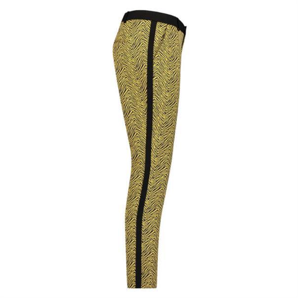 Aaiko pantalons PARIEN JACQUARD P in het Geel