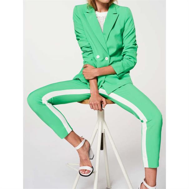 Aaiko pantalons PARIENNY PES 643 in het Mint Groen