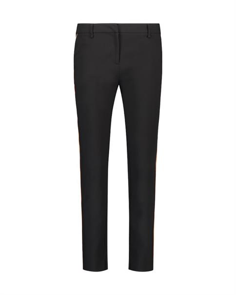 Aaiko pantalons PARINAS VIS 543 in het Zwart
