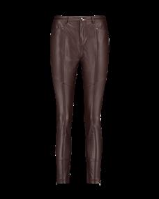 Aaiko pantalons SYBIL PU 766 in het Bruin