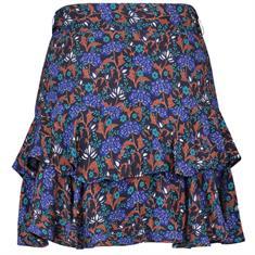 Aaiko rok lavana flower in het Donker Blauw