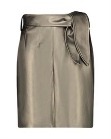 Aaiko rok PATIA METALLIC PU in het Taupe