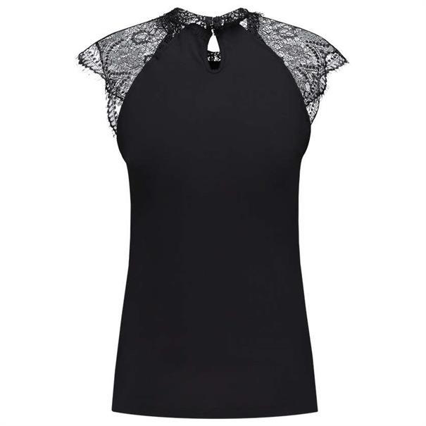 Aaiko t-shirts FILLA RAY 102 in het Zwart