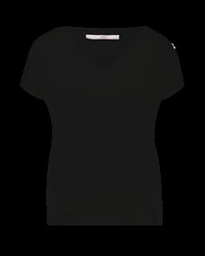 Aaiko t-shirts JENA VIS 344 in het Zwart
