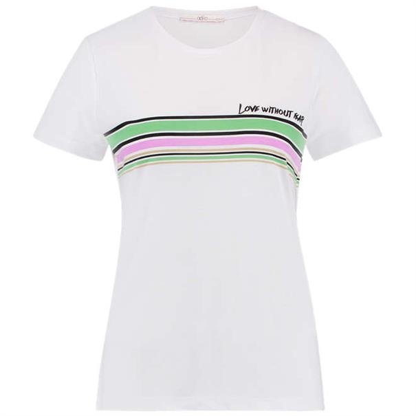 Aaiko t-shirts JOIE VIS 178 in het Wit