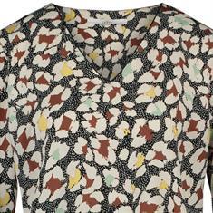 Aaiko t-shirts MARDEZ PAINT PES in het Ecru