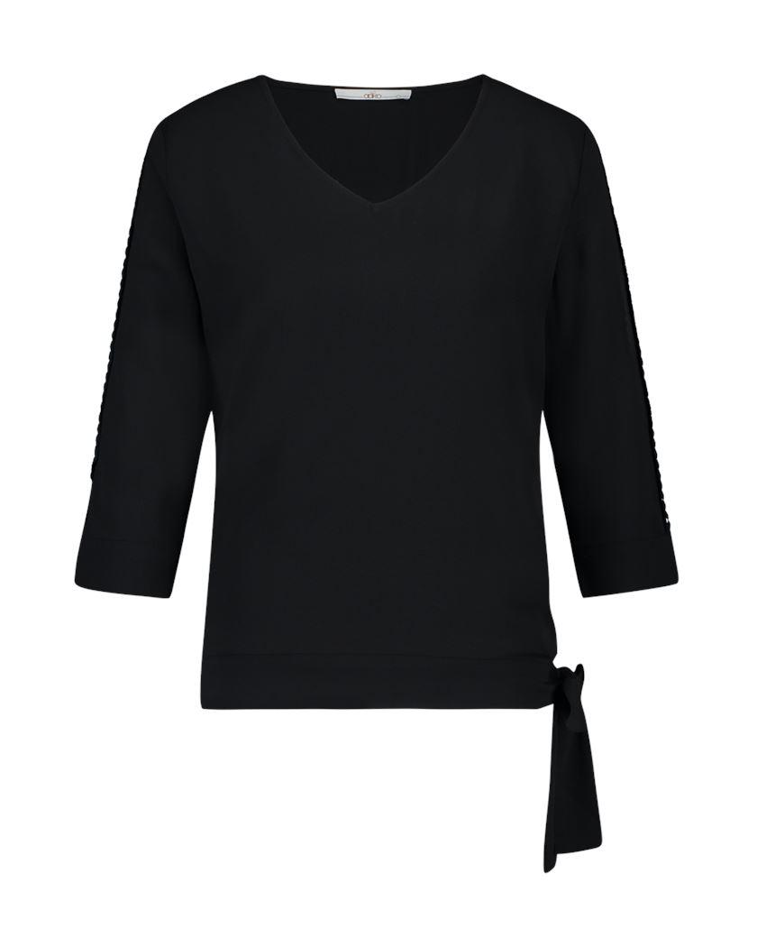 Smit Mode:  Aaiko t shirts MARDIA PES 587 in het Zwart