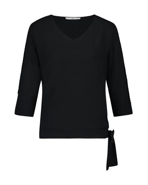 Aaiko t-shirts MARDIA PES 587 in het Zwart