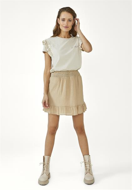 Aaiko t-shirts SALLY CO 190 in het Offwhite