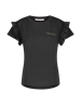 Aaiko t-shirts SALLY CO 190 in het Zwart