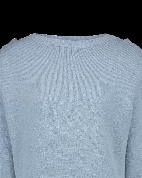 Aaiko trui MISCHA MOH 297 in het Licht Blauw
