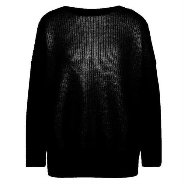 Aaiko truien PALERMO MOH 297 in het Zwart