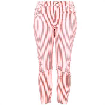Angels 7/8ste broek Ornella 259680007 in het Wit/Rood