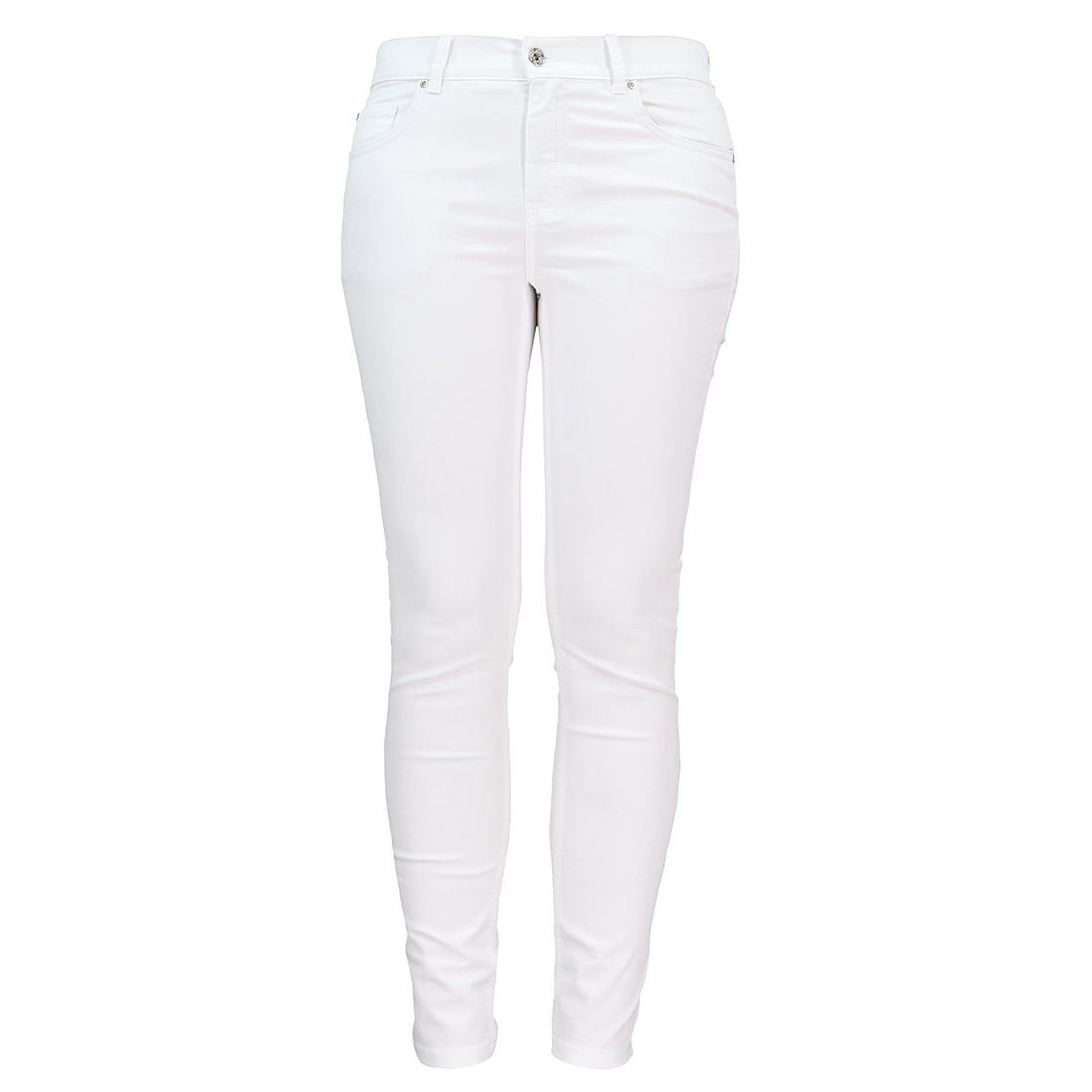 Smit Mode:  Angels jeans 332120030 in het Wit