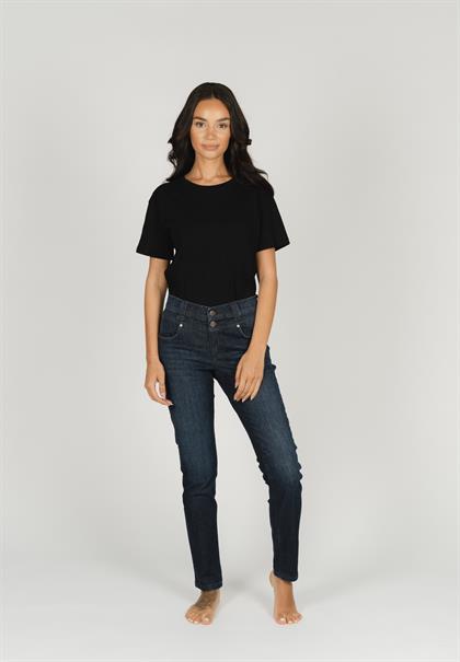 Angels jeans 3461203 in het Donker Blauw